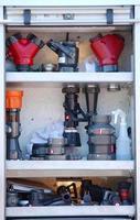 équipement de pompier photo