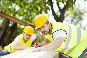 ouvriers du bâtiment photo
