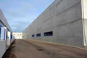 almacén industrial photo