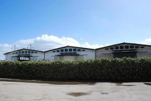 bâtiments sur zone industrielle photo
