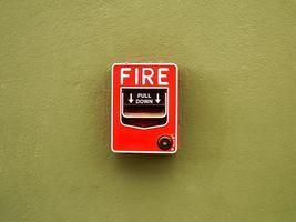interrupteur d'alarme incendie