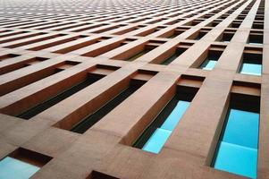 immeuble de bureaux moderne et contemporain photo