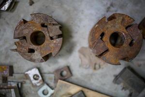 détail de l'atelier de métal photo