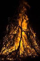 feu de camp photo