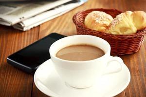 pause café au travail