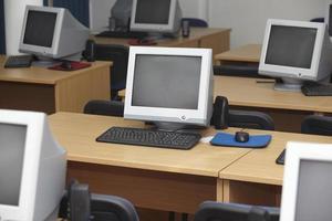 classe d'informatique 1 photo