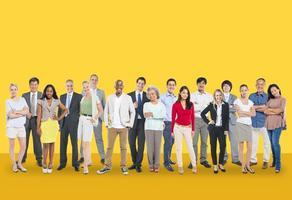 diversité gens aspiration communauté groupe concept photo