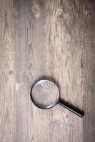 loupe, symbole de recherche photo