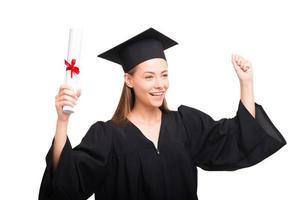 concept pour la remise des diplômes des étudiants photo