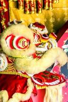 tête de lion chinois photo