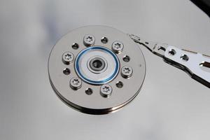 disque dur de l'ordinateur personnel photo