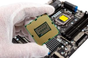 collection électronique - processeur d'ordinateur photo