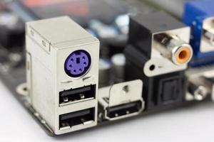 ports d'ordinateur photo