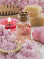 cadre de spa rose