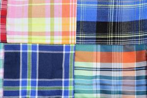 tissu artisanal traditionnel de la thaïlande