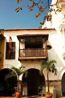maison coloniale espagnole. photo