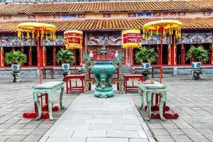 la cité interdite à hue, vietnam
