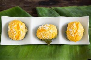 dessert thaï palmyra photo