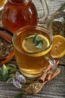 thé à la menthe photo