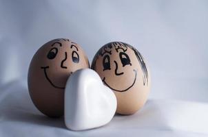 des œufs. photo