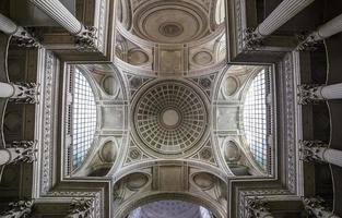 intérieurs, de, panthéon, nécropole, paris, france photo