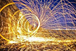 spral de laine d'acier photo
