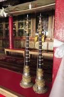 intérieurs, monastère bouddhiste, vers, mai 2011, ladakh, inde