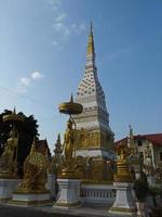 La pagode Phra That Nakon à Nakhon Phanom, Thaïlande photo