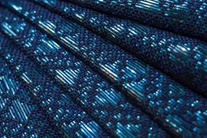 texture de tissu thaï photo