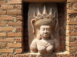 sculpture de chiangmai photo
