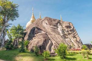 wat tham pha daen, sakon nakhon, thaïlande photo