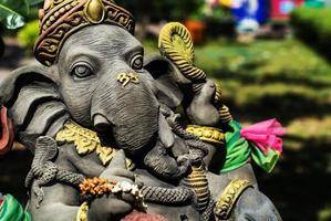 Ganesha en pierre en Thaïlande photo