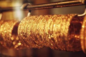 bijoux au souk d'or de dubaï photo