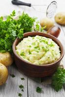 purée de pommes de terre photo