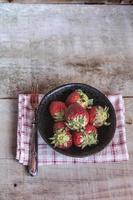 fraises fraiches photo