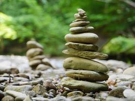 pierres en équilibre photo