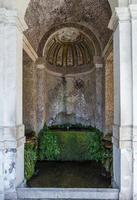 Villa d'este park à tivoli, lazio, italie