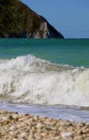 plage de portonovo (marches) photo