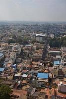 inde, trichy, toits de la ville photo
