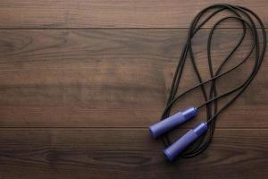 corde à sauter pour un exercice