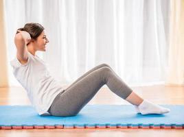 fitness à la maison photo
