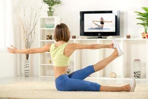 faire de l'exercice à la maison