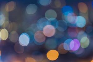 fond de bokeh coloré lumineux photo