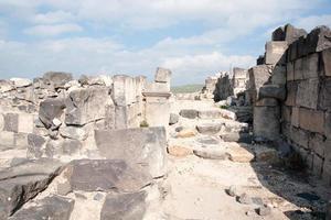ruines dans le parc national de susita photo