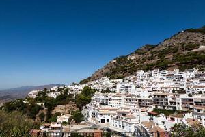 villages blancs andalous en espagne photo