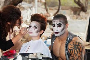 clowns se maquiller photo