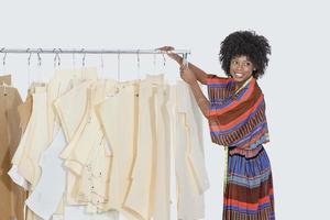 portrait d'une femme afro-américaine photo