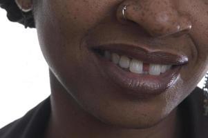 femme souriante photo
