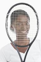 Portrait d'une jeune femme afro-américaine photo