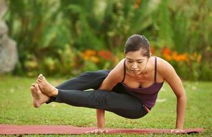 yogi pratiquant photo